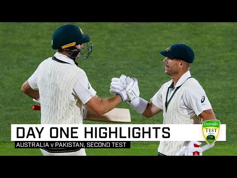 Demolition Men: Warner, Labuschagne Hammer Pakistan | Second Domain Test