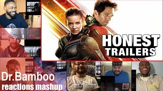 Honest Trailers: Ant Man and The Wasp REACTIONS MASHUP
