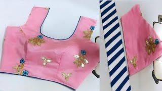 Trendy Blouse Sleeves Design   Princes Cut Blouse Back Nack Design Cutting Stitching   Blouse Design