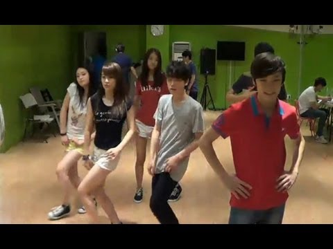 130725 'Call Me Maybe' dance practice Pt. 2