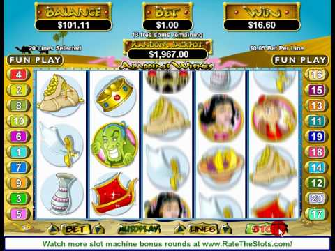 Spiele Aladdins Wish - Video Slots Online