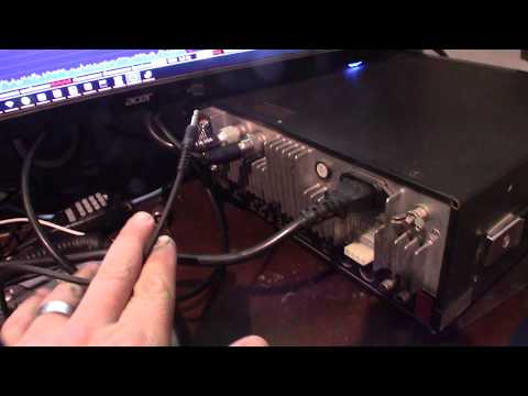 Icom IC-736 Cat Rig Computer Control With HDSDR HRD And Omni-rig