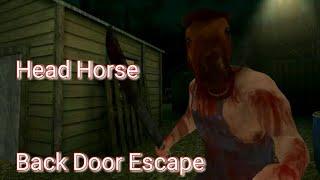 Head Horse Horror Game Full - Backdoor Escape