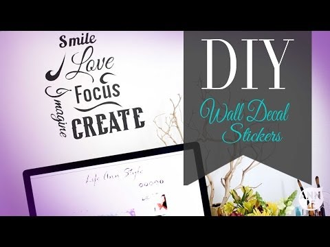 DIY Wall Decal | Inspirational Wall Art | ANN LE