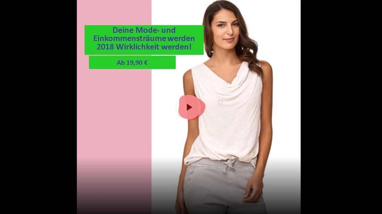 detailing d6c02 2c99b Italienische Mode Online Video Damenmode Oberteile günstige Mode