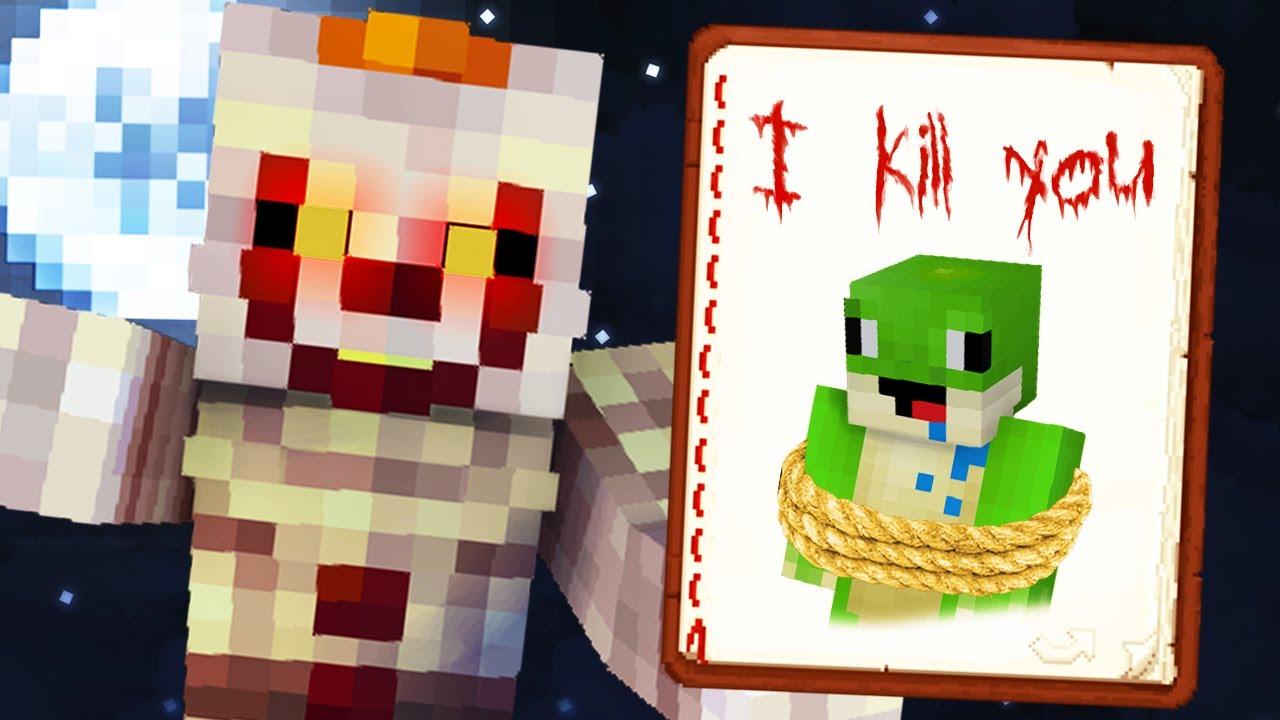 Dostałem WIADOMOŚĆ od PENNYWISE w Minecraft!