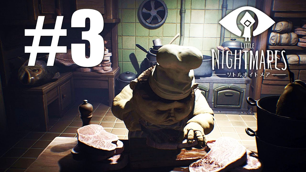 Little Nightmares Chapter 3   The Kitchen Place L Twin Chefs Walkthrough