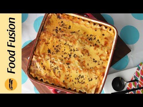 Vegetable Lasagna Recipe By Food Fusion