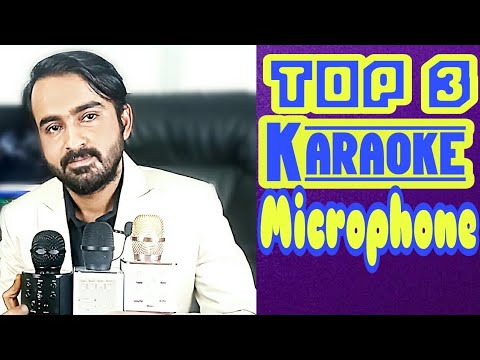 Compare Between Top Three Karaoke Microphones | Q7 / Q9 & W858 | 2018