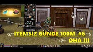 Metin2 TR   İtemsiz Günde 100M Kasmak! #6