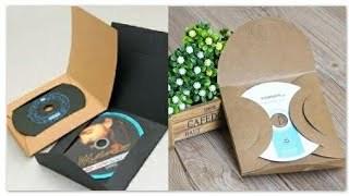 How To Make CD-DVD covers With A4 paper,cd dvd case,paper cover
