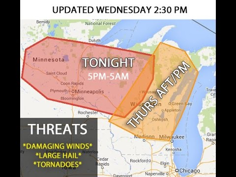 WISCONSIN WEATHER *LIVE*  9-3-2014
