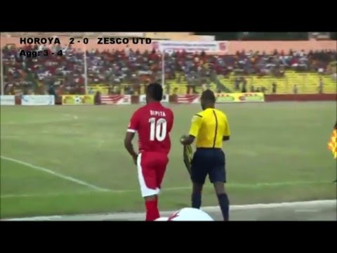 Horoya 2 - 0 Zesco United (Agg: 3 - 4) — 2016 CAF African Champions League
