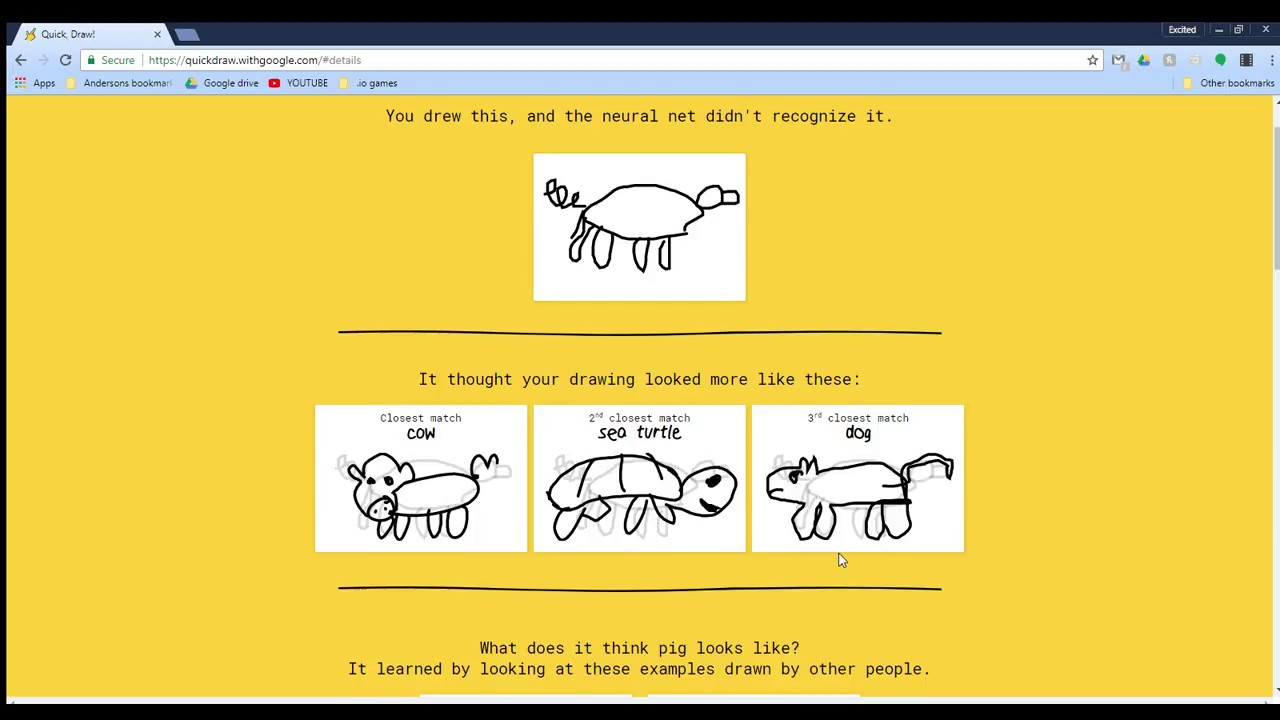 Quick Draw Simple Drawing Game