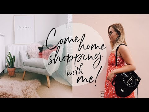 COME SHOPPING WITH ME + HAUL: HOMESENSE EDITION   Hello October Vlog   AD
