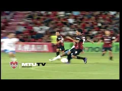 MTUTD.TV Teerasil Dangda Goals and Skills TPL 2012