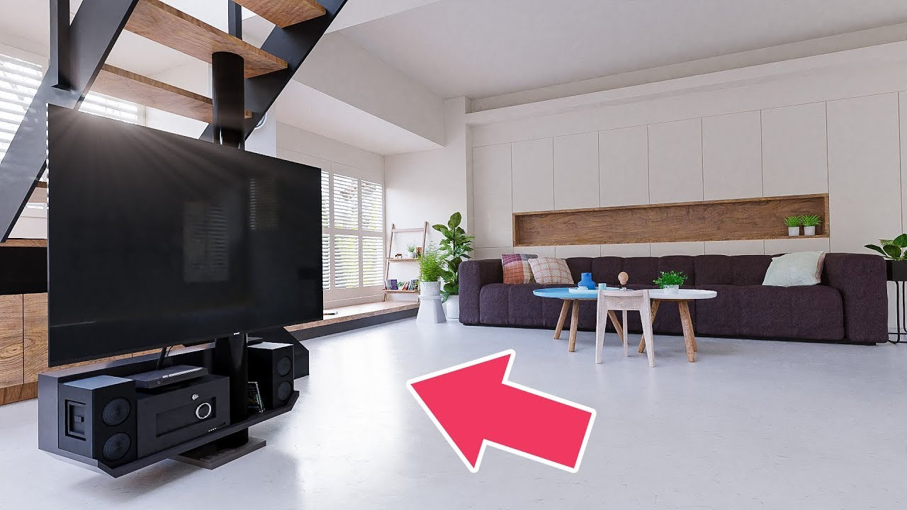 Create a modern interior or how to arrange the furniture in the room 56