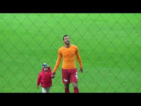 Maç sonu Belhanda'nın oğlunun golü ve Belhanda'dan üçlü :) Galatasaray