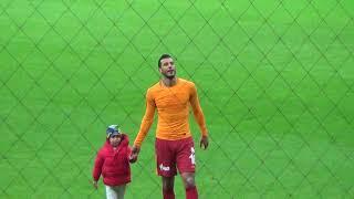 Maç sonu Belhanda'nın oğlunun golü ve Belhanda'dan üçlü :) Galatasaray - Bursaspor