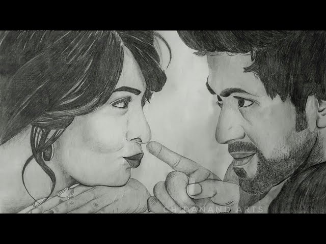 Drawing rockingstar YASH - RADHIKA PANDIT | pencil