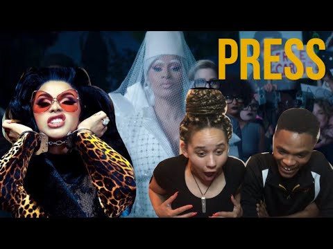 Repeat Cardi B Press Official Video Reaction Noel Ferreira By