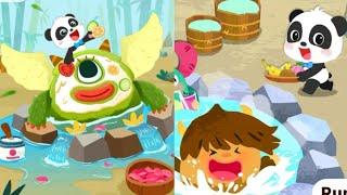 Baby Panda s Monster Spa Salon BabyBus BabyBus Kids Games