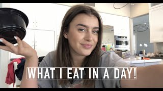 What I Eat In A Day 2019!- Kalani Hilliker