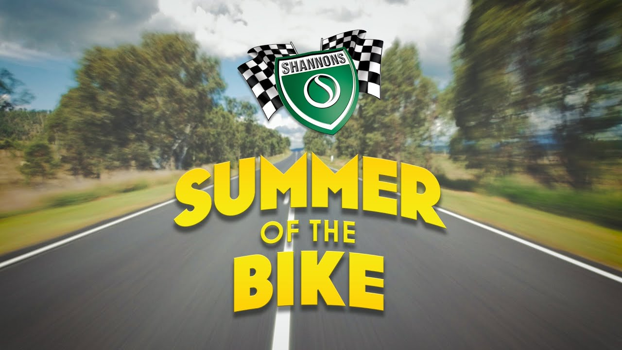 Shannons Summer of the Bike 2015