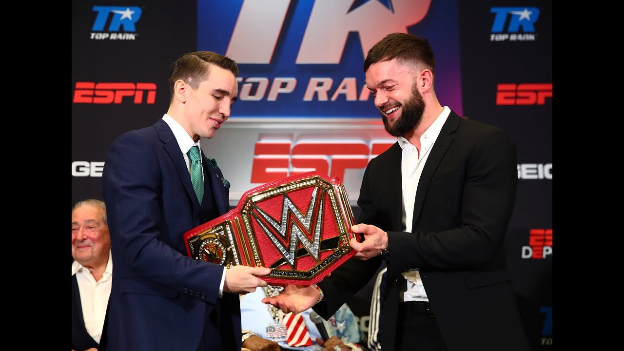 WWE Superstar Finn Bálor talks about getting to know Mick Conlan.