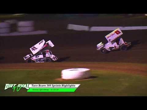 4-13-18 Ocean Speedway Taco Bravo 360 Sprints Highlights