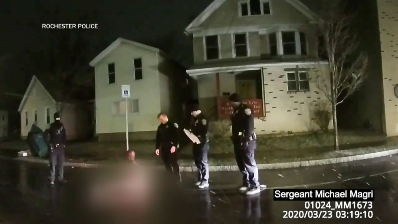 Body Camera Video Captured Police Encounter Daniel Prude, Who Later Died Of Suffocation