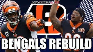 Rebuilding The Cincinnati Bengals - Madden 19 Connected Franchise Realistic Rebuild
