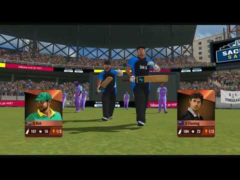 ( सबसे पहले worldwide launch ) Sachin Saga Cricket Champions Official aNdroid / IOS full gameplay