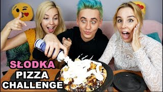 SŁODKA PIZZA CHALLENGE 🍕🍦