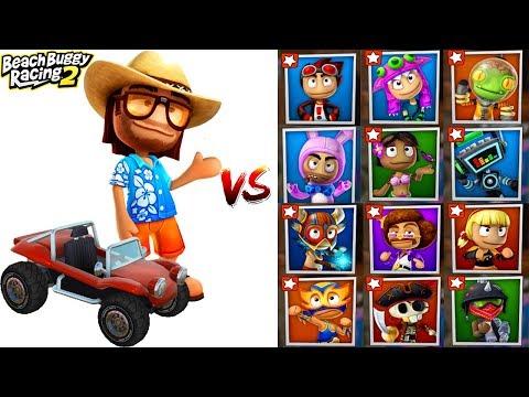 Beach Buggy Racing 2 Android Gameplay | Beach Bro & Beach Buggy Car VS All Bosses Battles