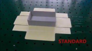 Sweet box making machine