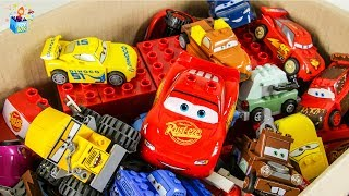 Colors Learning disney pixar cars city Vehicle friend's Lego Full Box Play toys funny video for kids