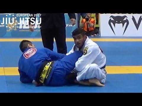 Koji Shibamoto VS Rodnei Barbosa / European Championship 2017