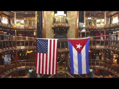 HAVANA, CUBA, on-board Cruise Ship Carnival Paradise, Sept-2017