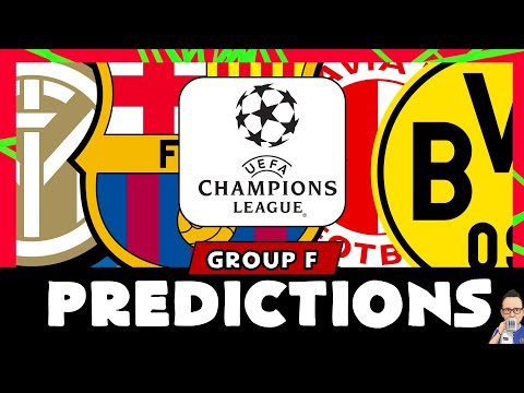 2019/20 Champions League Group F - Predictions