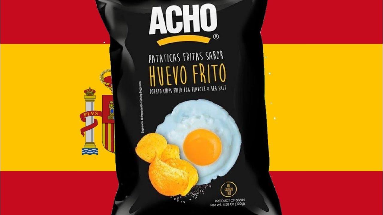 Trying Spanish Fried Egg Chips Youtube