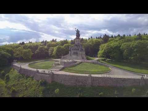 Rheingau, Niederwalddenkmal, PolarPro, DJI Mavic Pro
