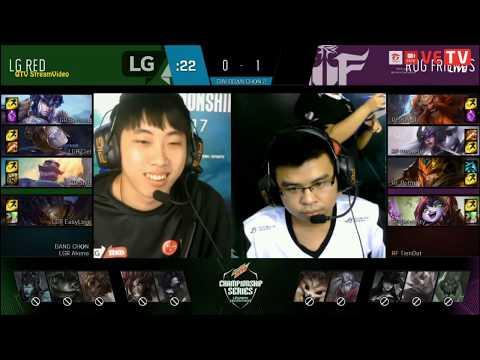 ROG Friends vs LG Red [RF vs LGR] - Game 2 - 19/7/2017