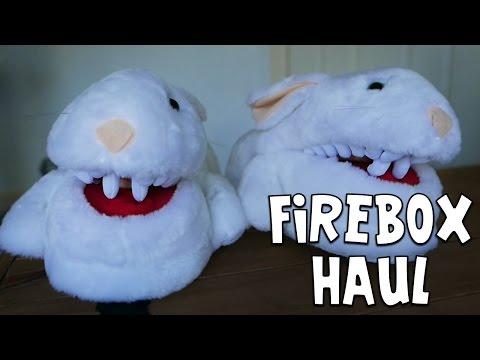 Squiddy Vlogs - FIREBOX MYSTERY HAUL! [27]