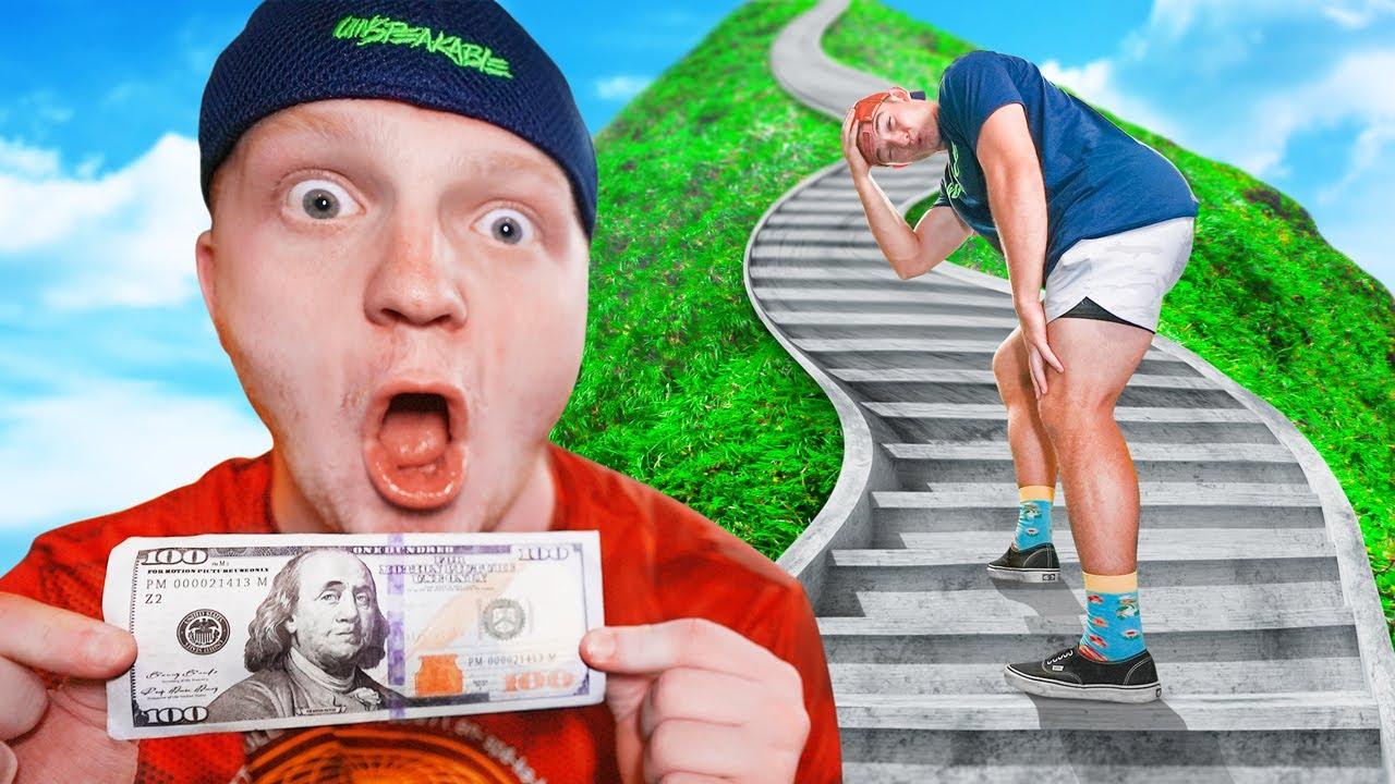 EVERY STEP, YOU KEEP $1!