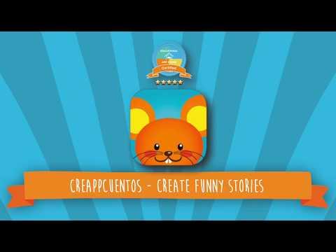 Creappcuentos Create funny stories - iPad app demo for Kids