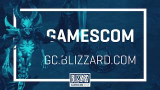 Heroes of the Storm en la gamescom 2018 (ES)