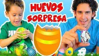 DIBUJANDO Y ABRIENDO HUEVOS SORPRESAS  | HaroldArtist