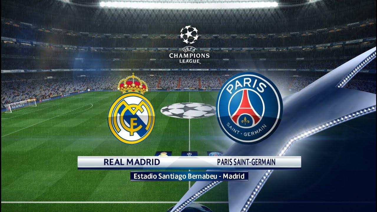 Real Madrid Vs Psg Youtube Video