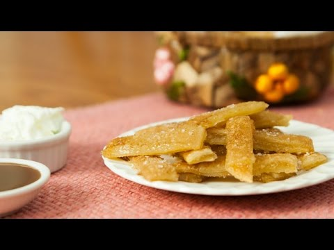 The Most Incredible Apple Pie Fries